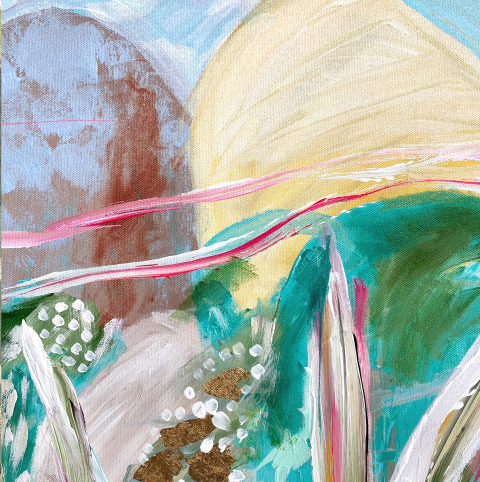 Joan Blond Pink Sky in The Morning Detail2