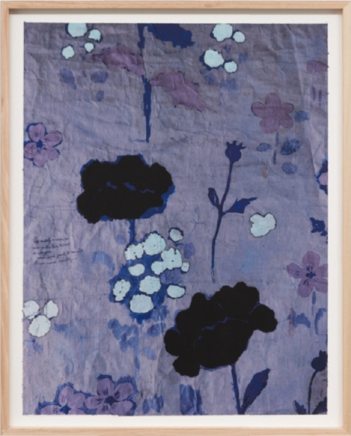 Paule Marrot Poppies Violet 1 39
