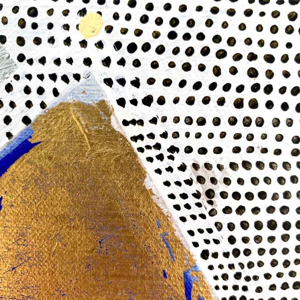 Patricia Heaslip Rain At Dusk On Diamond Hill detail