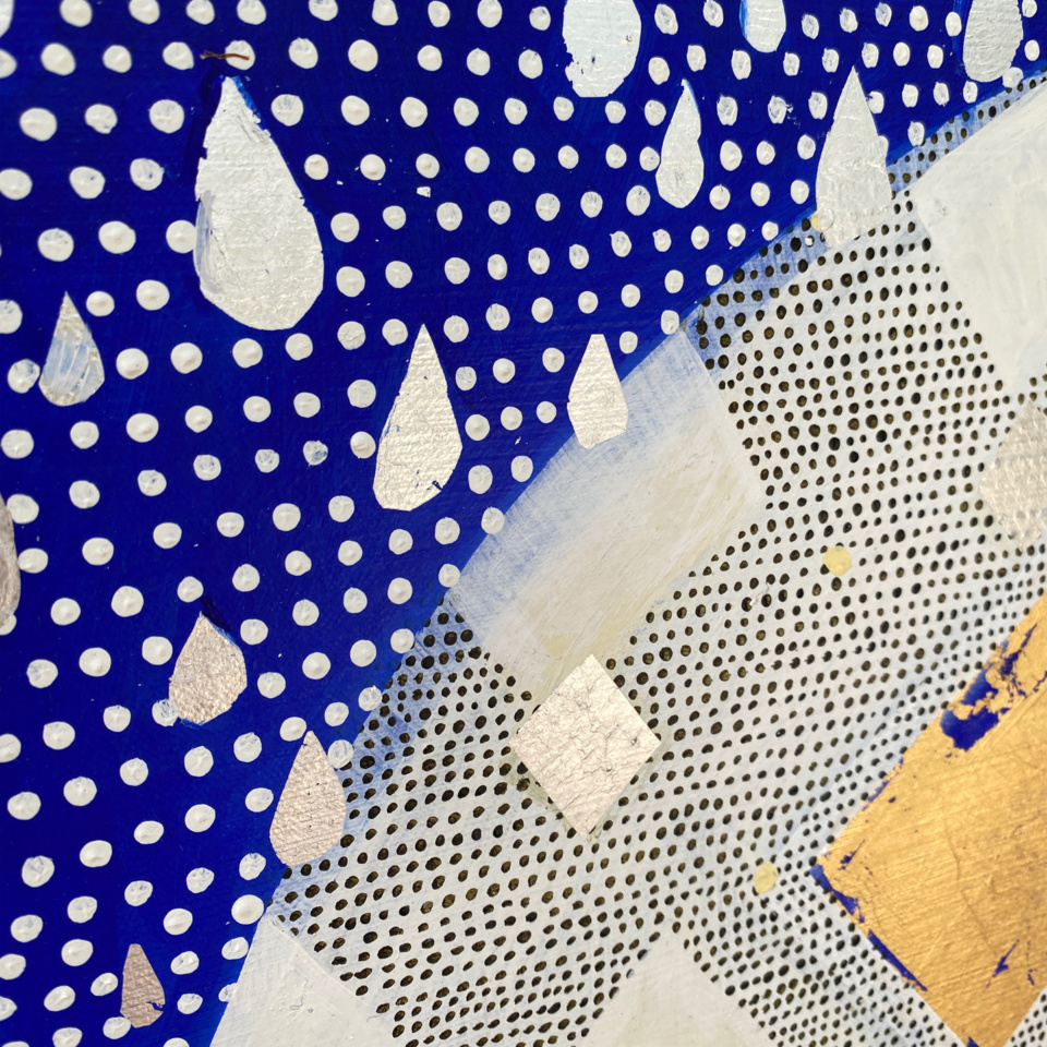 Patricia Heaslip Rain At Dusk On Diamond Hill detail2