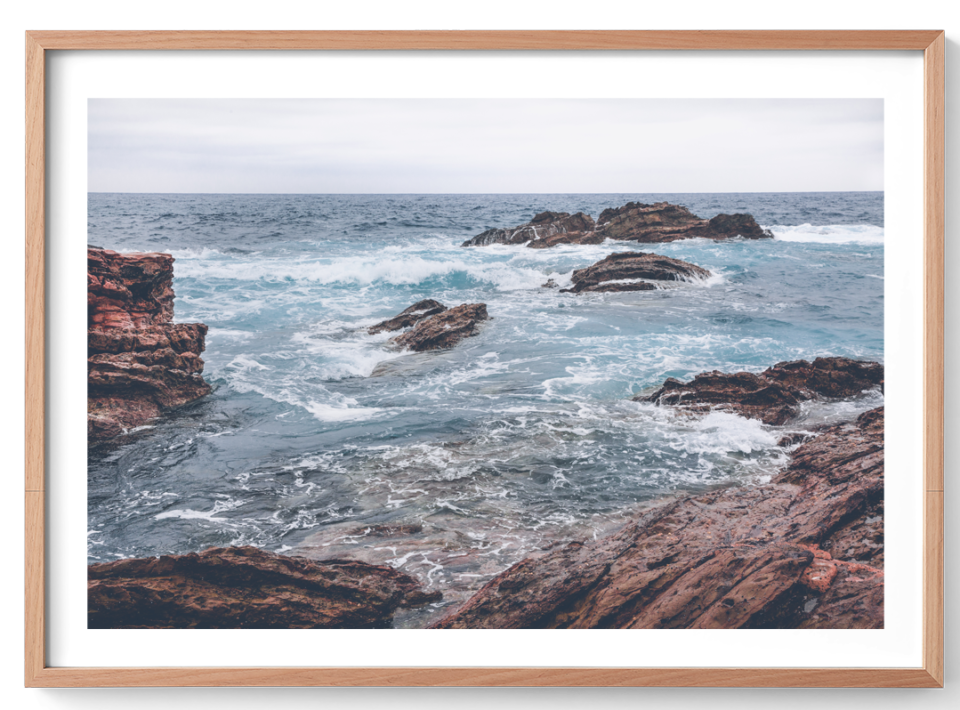 Michelle Schofield Rugged Oak Frame