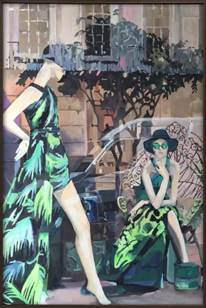 Gina Fishman Bruton St London Framed