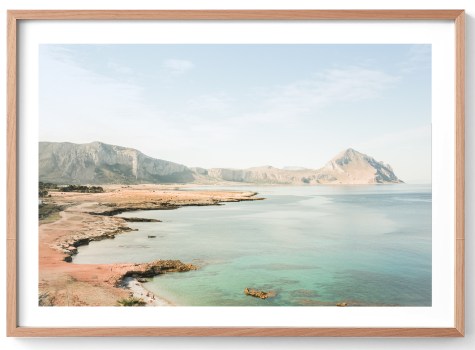 Michelle Schofield Sicilian Life Oak Frame