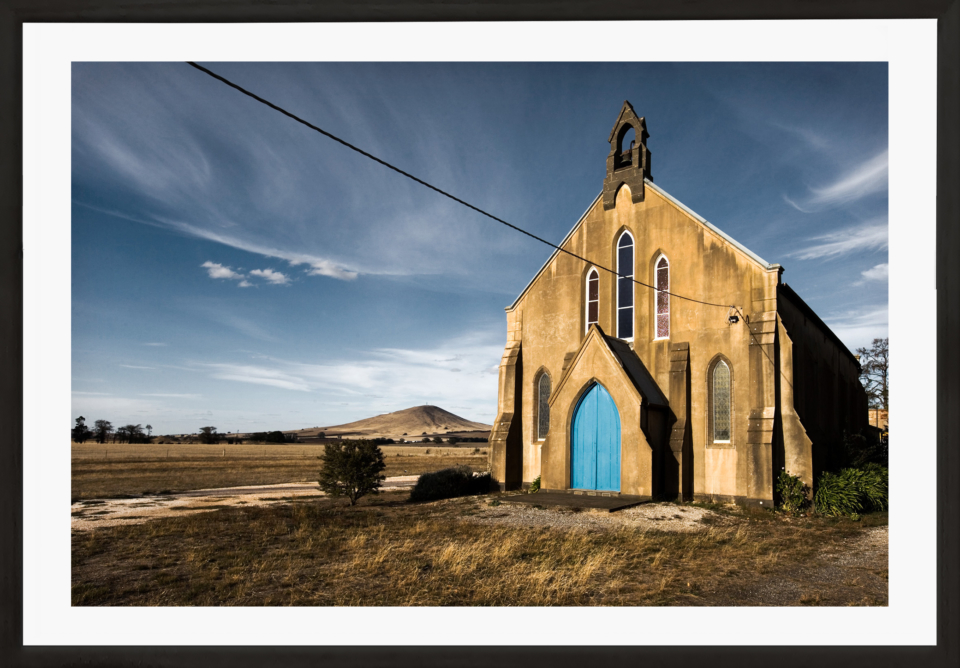 Craig Holloway Smeaton Church Framed Black