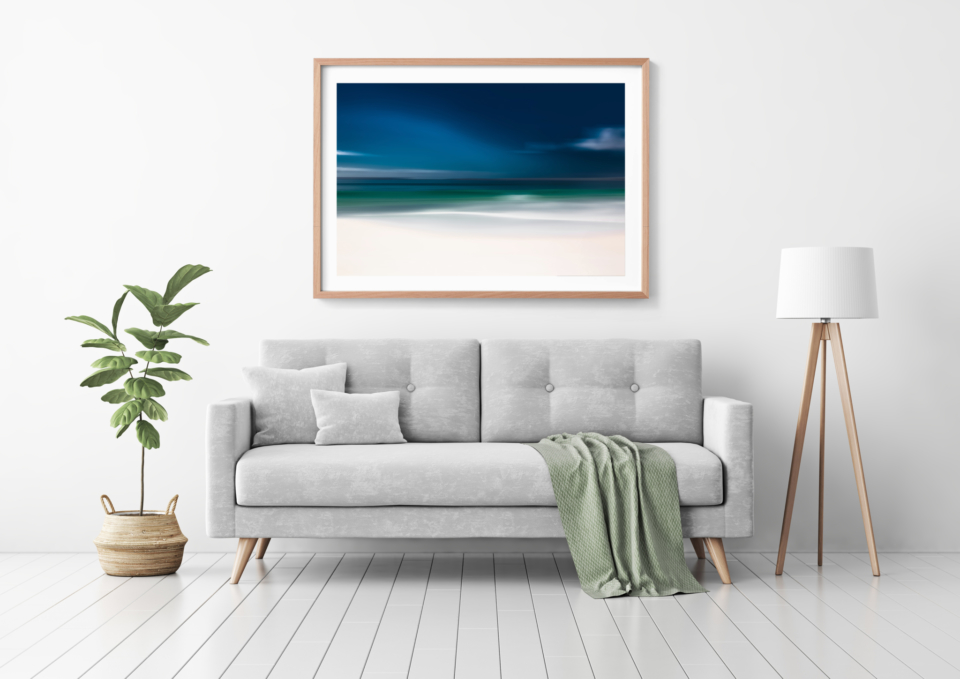 Storm Front Green Couch Mockup