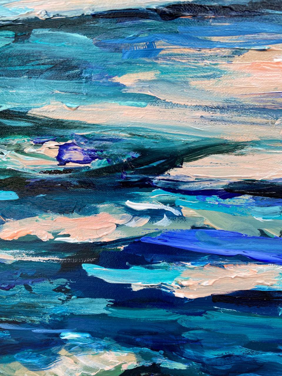 Gina Fishman The Deep End detail