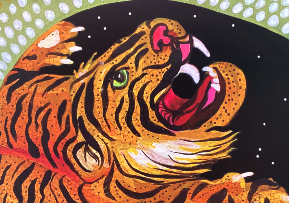 Michelle Sanger Tiger Daughter Detail