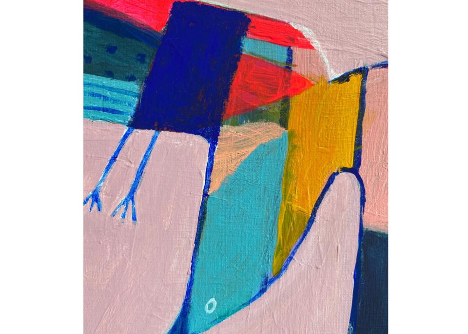 Angie Goto Topsy Turvy Bird detail3