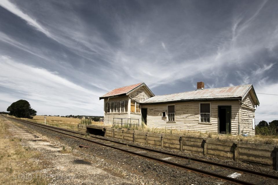 Craig Holloway Trawalla Railway Station