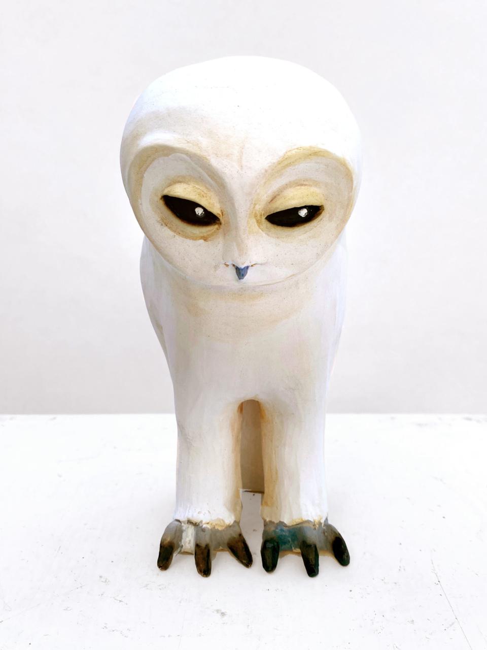 Jenny Rowe White Owl 01 2adjust