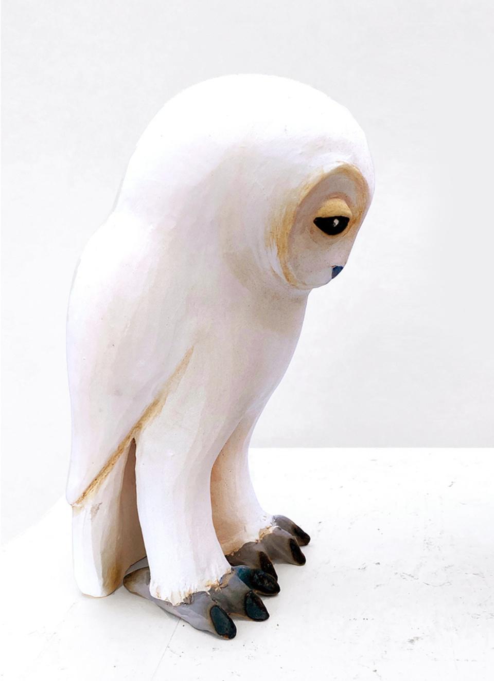 Jenny Rowe White Owl 01 adjust