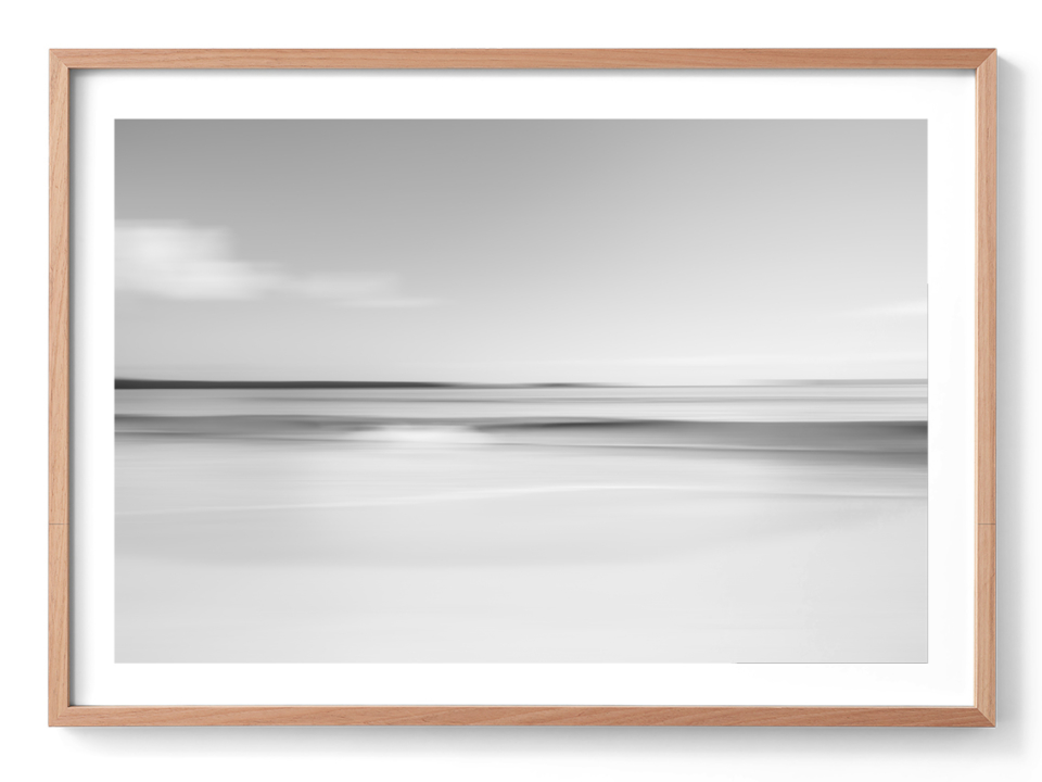 Michelle Schofield Winter Beach Oak Frame